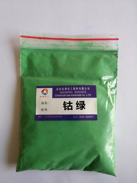 钴绿供应彩之源无机混相耐高温颜料钴绿图片