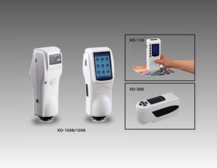 色差仪电池驱动的手持便携式色差计图片