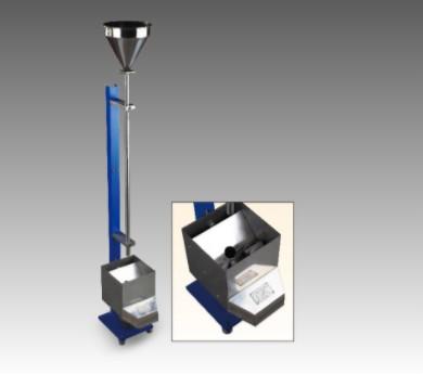 落砂耐磨试验仪落砂耐磨试验器是用来测试在标准条件下有机涂层的耐磨性。本图片