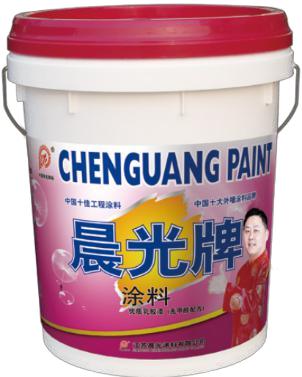 晨光绮麗優質亞光內牆乳膠漆CHG-M737图片