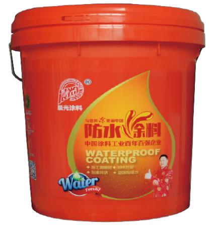 晨光500柔性聚合物水泥防水涂料CHG-FS500 绿色图片