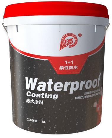 晨光1+1柔性聚合物水泥防水涂料CHG-FS1100图片
